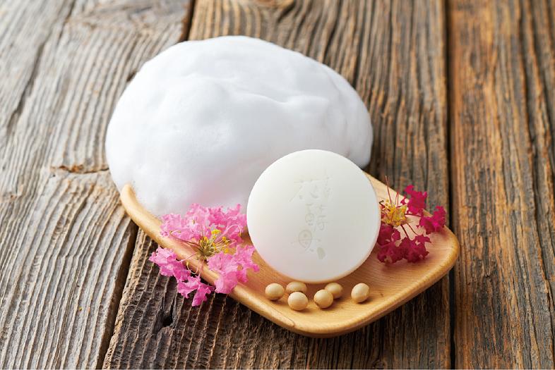 保養的根本,豆腐盛田屋花酵母精萃豆乳潔顏皂